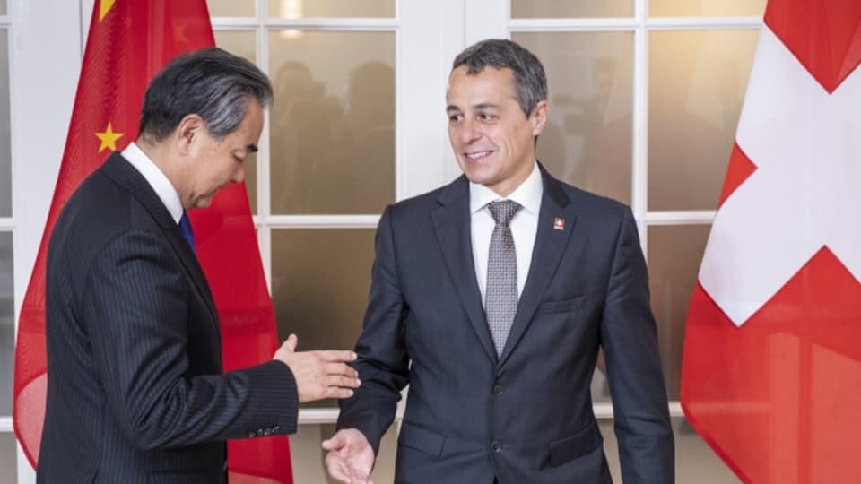 Die Schweizer China-Strategie ist nicht unumstritten.