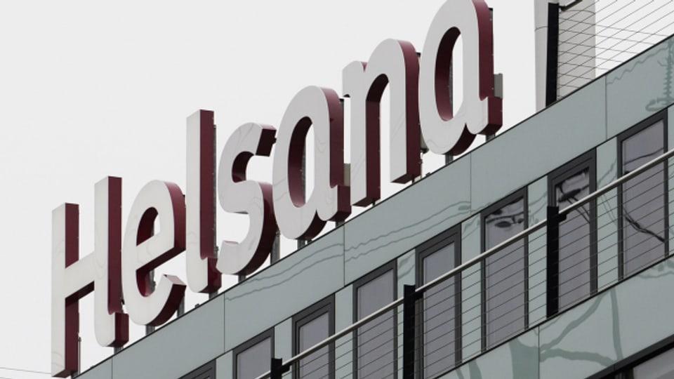 Das Logo der Krankenkasse Helsana