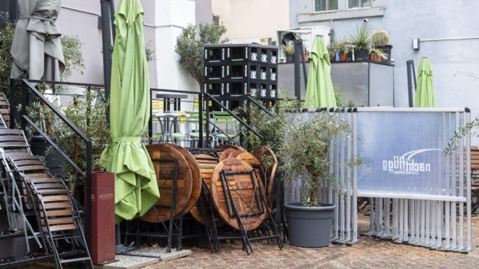 Auspacken! Gartenrestaurants dürfen wieder öffnen.