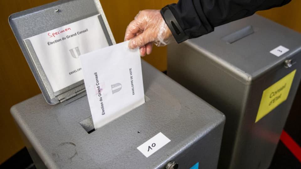 Wahlen in Covid-Zeiten. Am Sonntag wurde im Kanton Neuenburg Regierung und Parlament gewählt.