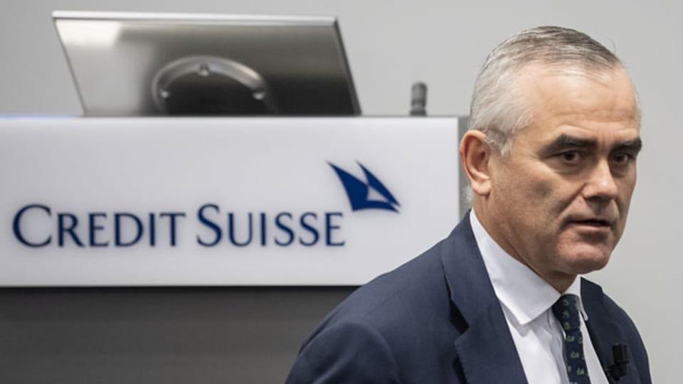 Thomas Gottstein, CEO der Credit Suisse.
