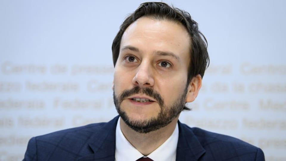 Ronald Indergand, Leiter Ressort Konjunktur, Staatssekretariat für Wirtschaft Seco.