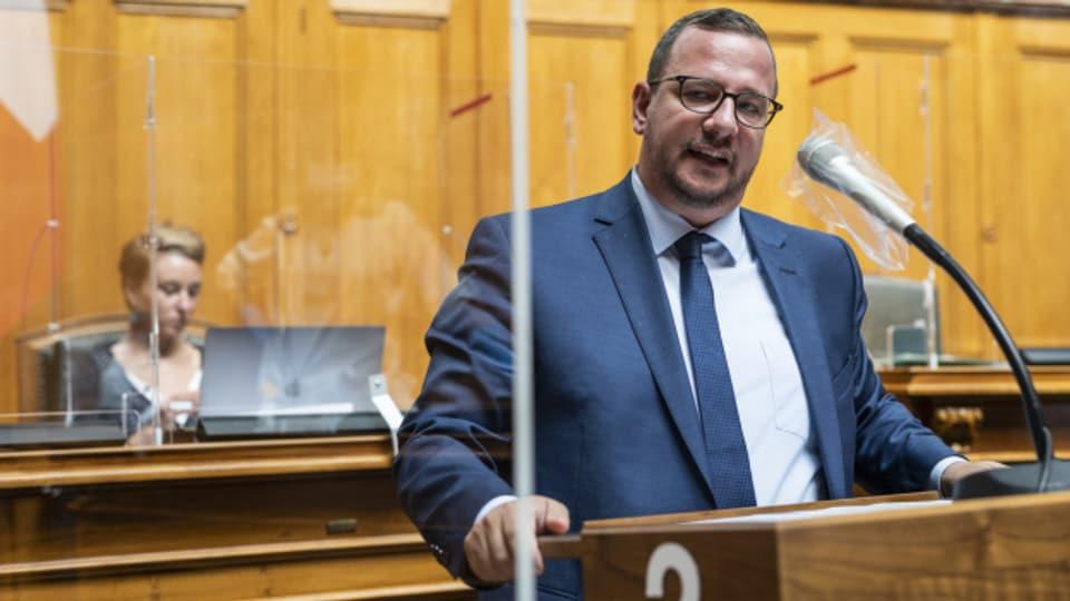 Philipp Matthias Bregy dürfte neuer Chef der Mitte-Fraktion werden.