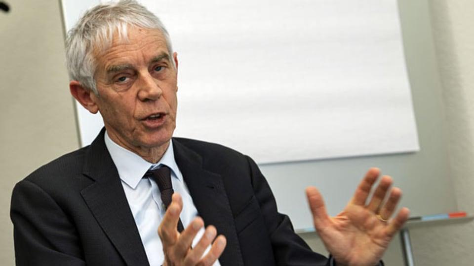 Martin Vetterli, Präsident der Eidgenössischen Technischen Hochschule EPFL in Lausanne.
