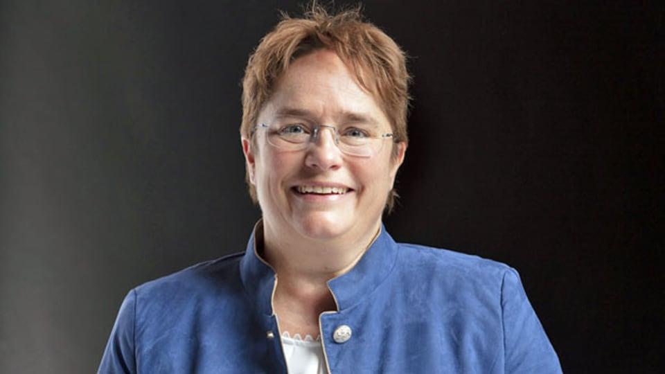 Magdalena Martullo-Blocher, Nationalrätin der SVP-Graubünden im «Tagesgespräch».