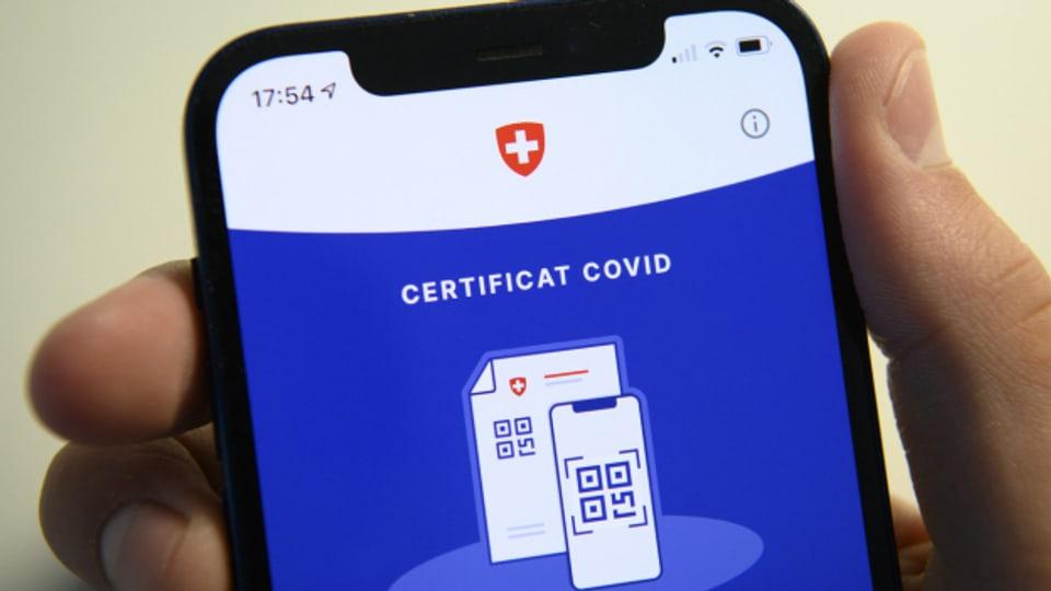 Wo soll das Covid-Zertifikat überall zum Einsatz kommen?