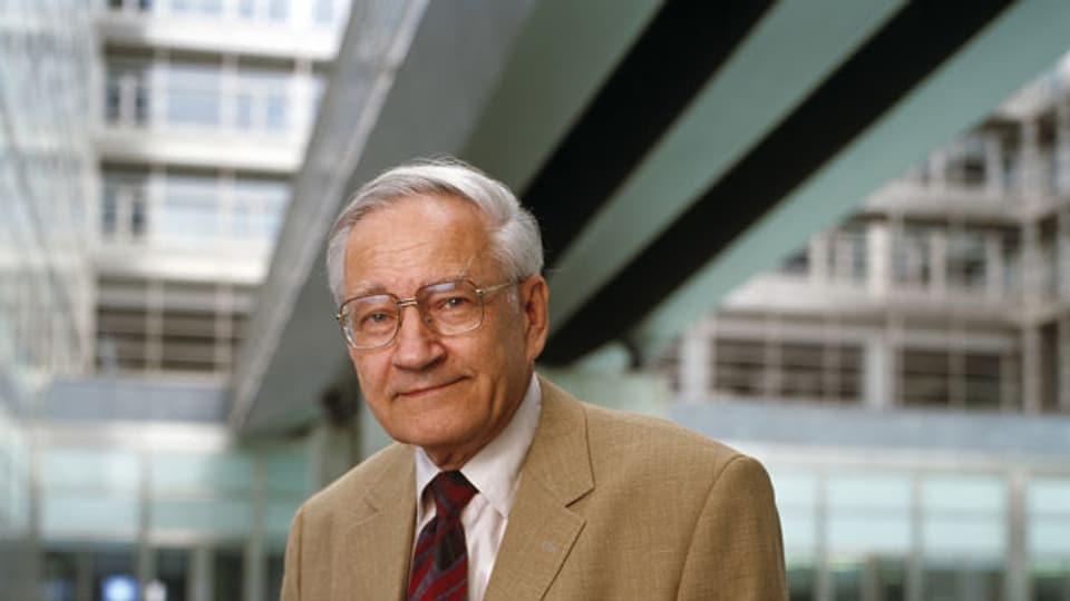 Richard Ernst, Schweizer ETH-Professor und Nobelpreisträger.