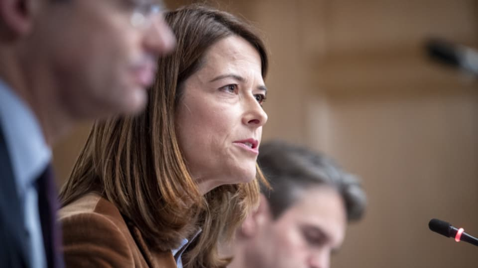 Petra Gössi gibt ihr Amt als Präsidentin der FDP spätestens Ende 2021 ab.