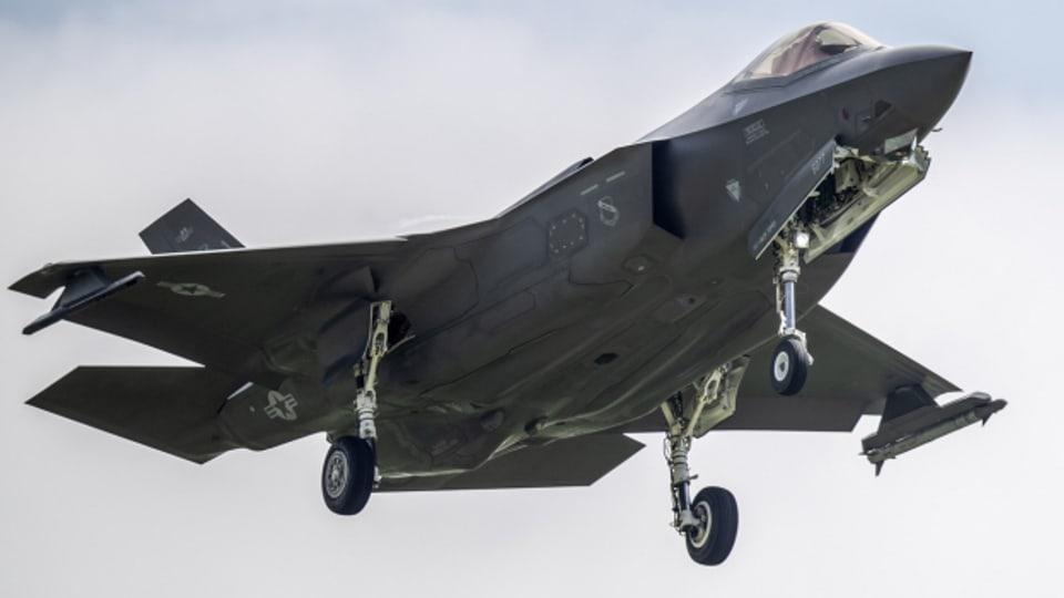 Kampfjet F-35: Wird sich die Schweiz für das amerikanische Kampfflugzeug entscheiden?