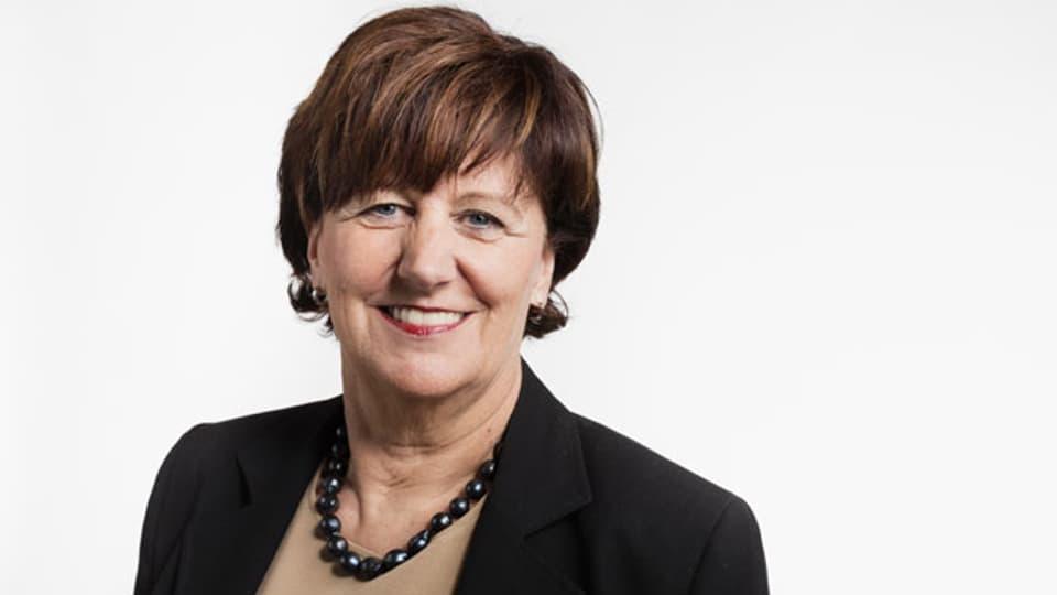 Ida Glanzmann, Präsidentin der Sicherheitskommission des Nationalrats.