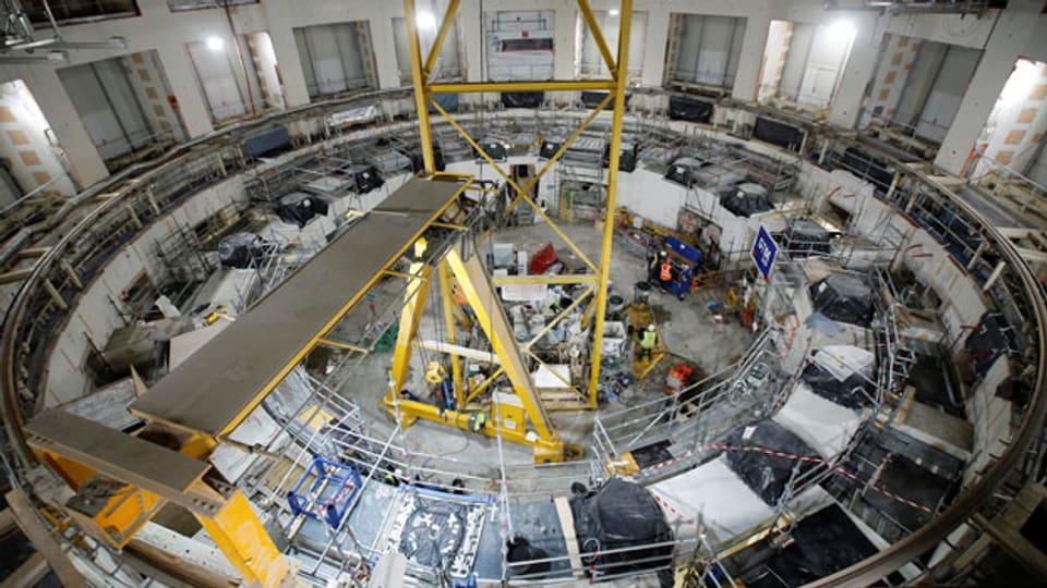 Gesamtansicht der Baustelle des Internationalen Thermonuklearen Versuchsreaktors (ITER) in Saint-Paul-lez-Durance. Die Schweiz ist nicht mehr dabei.