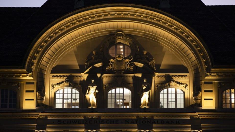 Schweizerische Nationalbank: Wirtschaft wird weiter unterstützt.