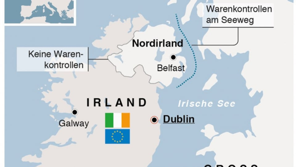 Umgang mit Nordirland – der heikle Punkt beim Brexit.