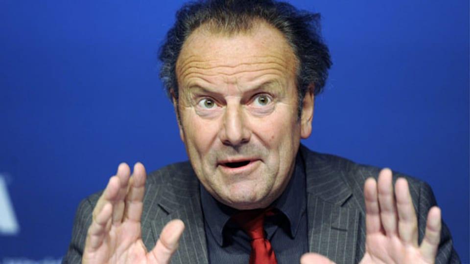 Mark Pieth, Strafrechtsprofessor aus Basel.