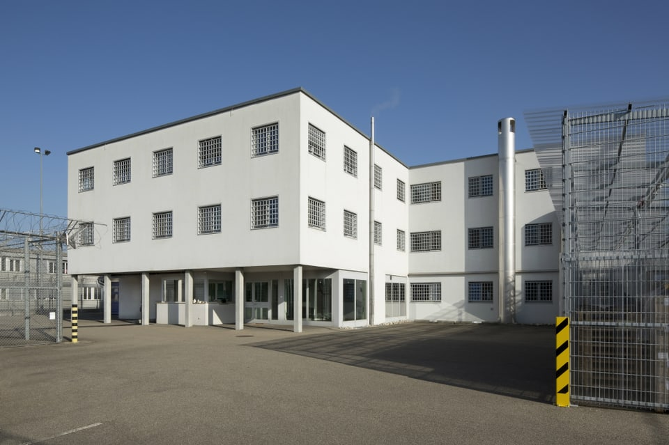 Das Gefängnis Bässlergut in Basel.