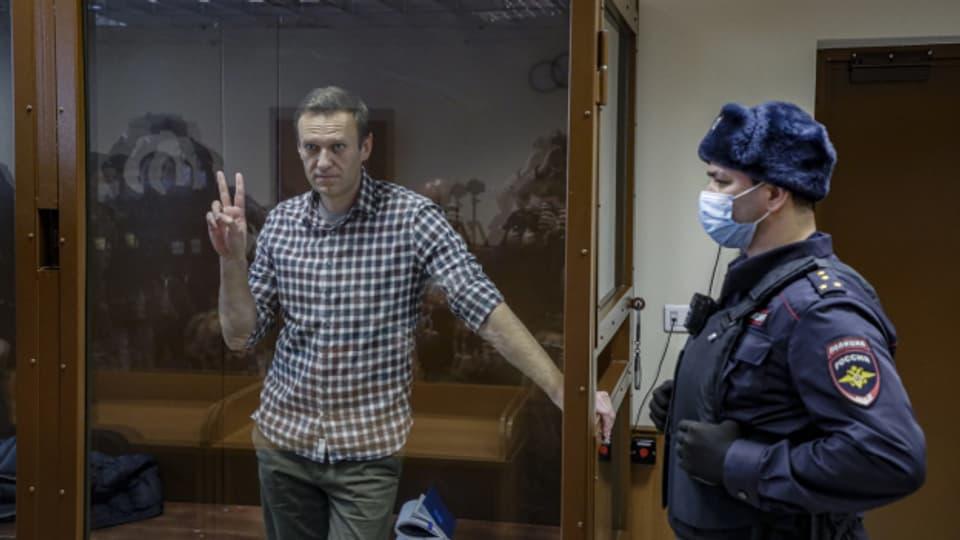 Der russische Oppositionsführer Alexej Nawalny will mit dem Hungerstreik auf seine Situation im russischen Straflager aufmerksam machen.