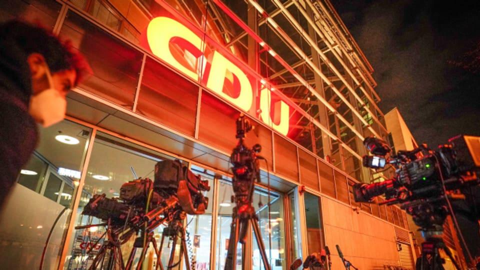 CDU-Vorstand entscheidet sich für Laschet