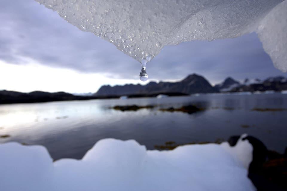 Schmelzendes Eis in Grönland