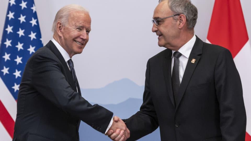 Die Schweiz gibt sich gern als diplomatische Vermittlerin
