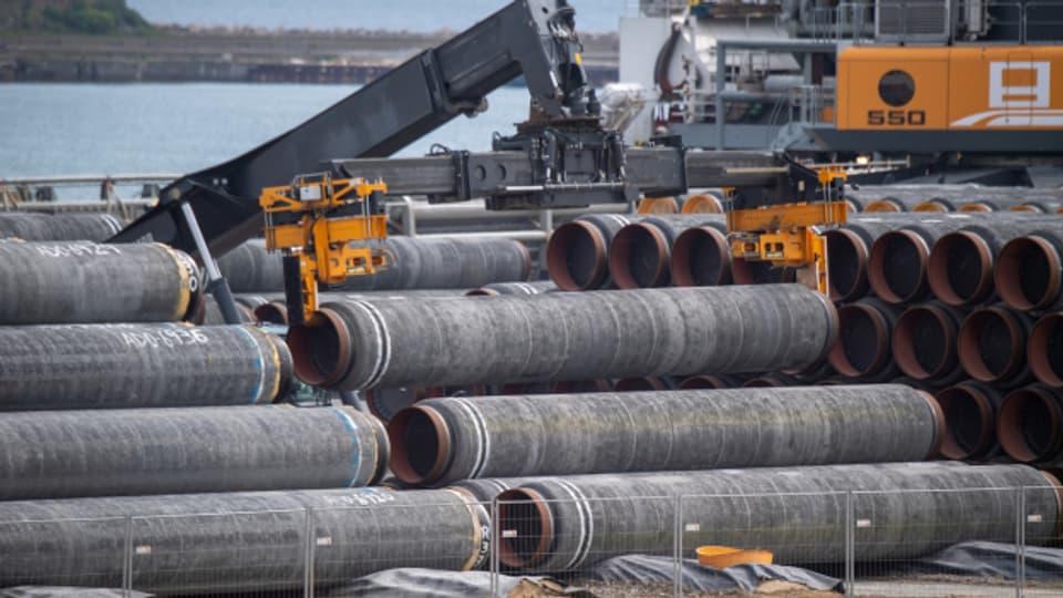 Nicht alle sind mit dem Entscheid über die Gas-Pipeline Nord Stream 2 einverstanden.