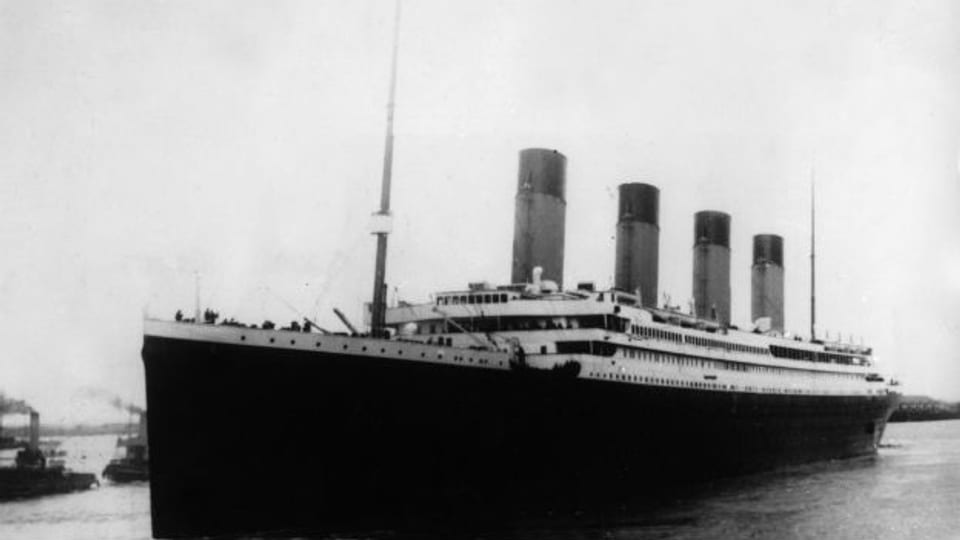 Jungfernfahrt zum Meeresgrund: Die «Titanic»