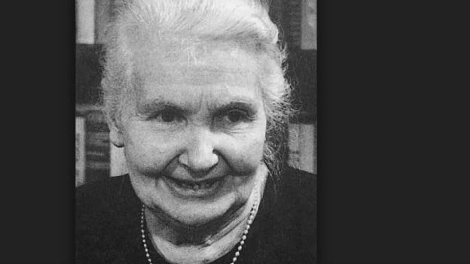 Flüchtlingsmutter Dr.h.c.Gertrud Kurz, 1890 - 1972.
