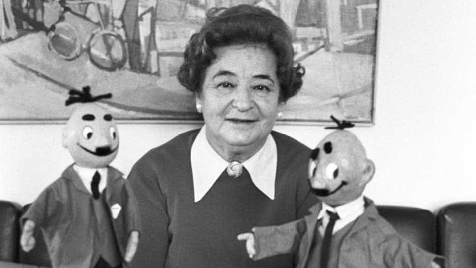 Edith Oppenheim-Jonas, die Erfinderin von Papa Moll