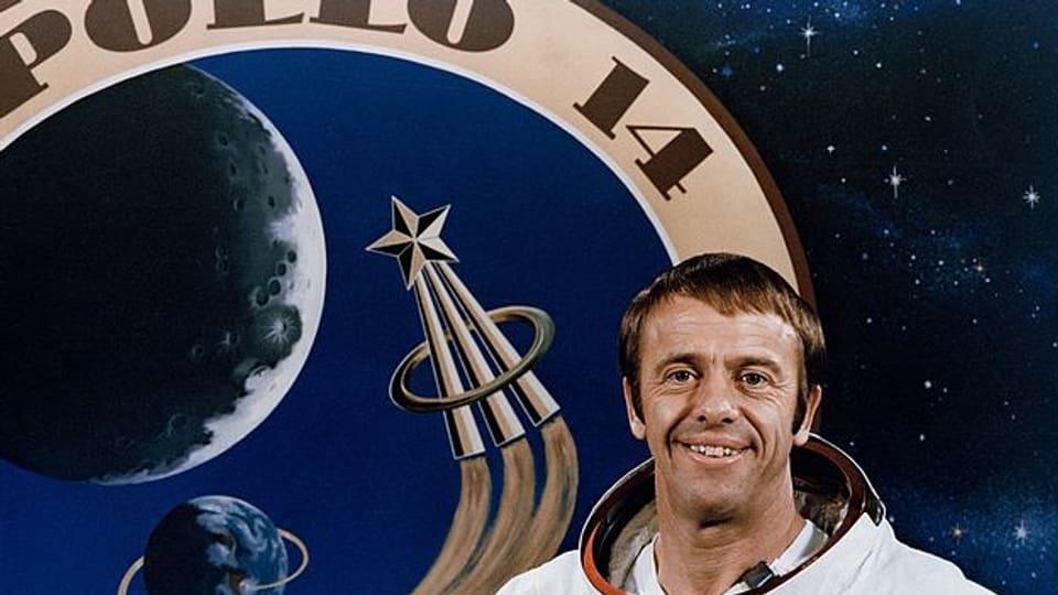 Der fünfte Mensch auf dem Mond: Apollo-14-Astronaut Alan Shepard.