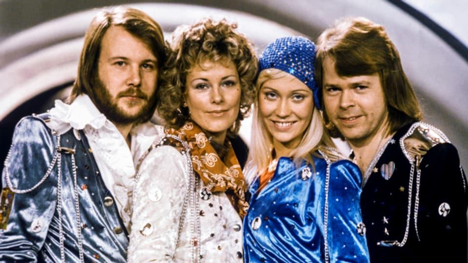 ABBA am Eurovision Song Contest.