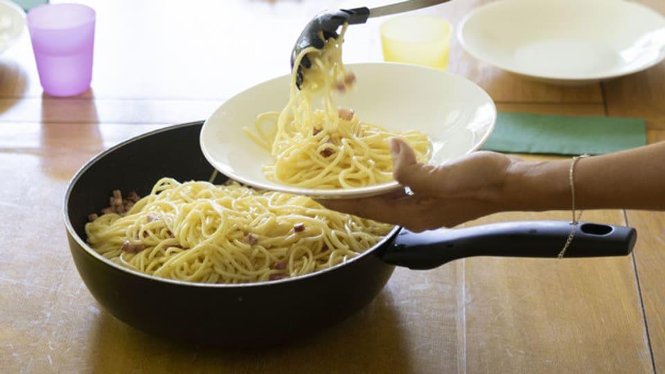Spaghetti spielten beim BBC-Scherz 1957 eine wichtige Rolle