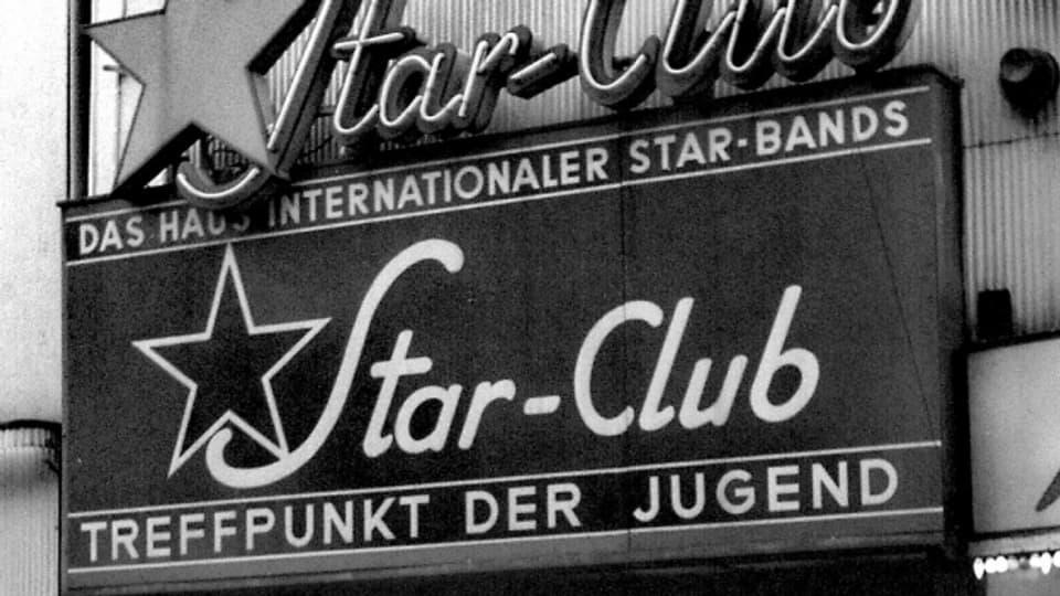 Eingang des Star-Clubs in der Grossen Freiheit, Hamburg.