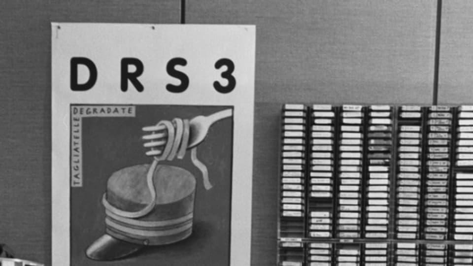 Das frühere Radiostudio von DRS3 in Basel.