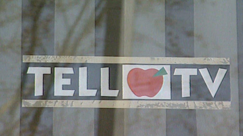 Das Logo von Tell-TV wurde nie ausgestrahlt.