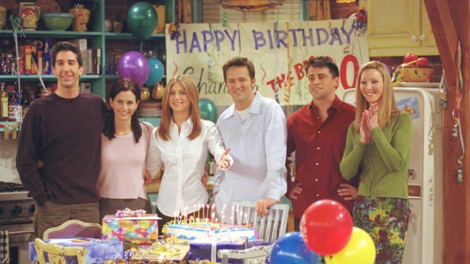 Der Cast von Friends