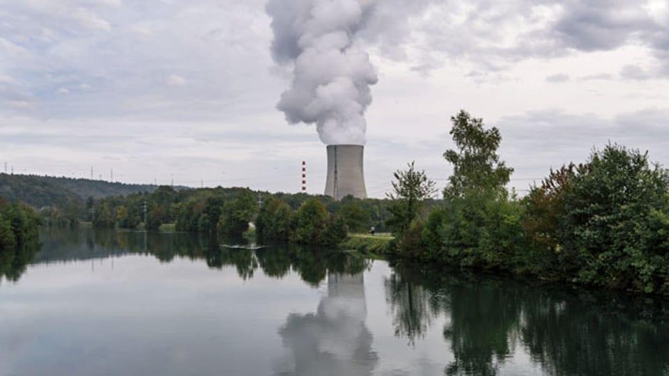 Kühlturm des Kernkraftwerks Gösgen.