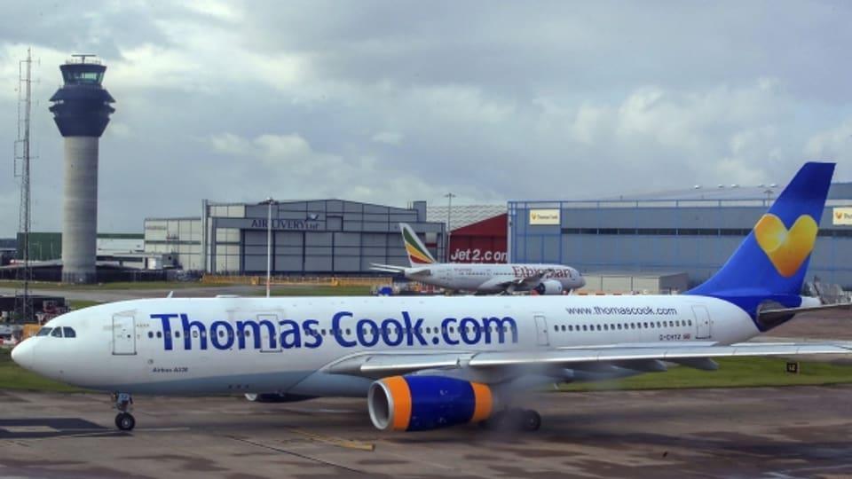 Alle Flüge gestrichen wegen der Pleite von Thomas Cook.