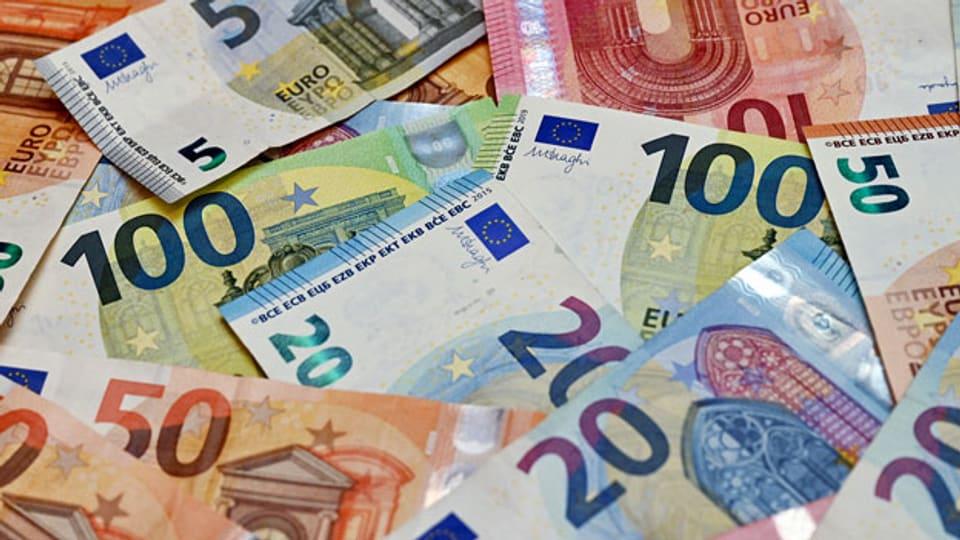 Die Inflation im Euro-Raum beträgt fast zwei Prozent.Symbolbild.