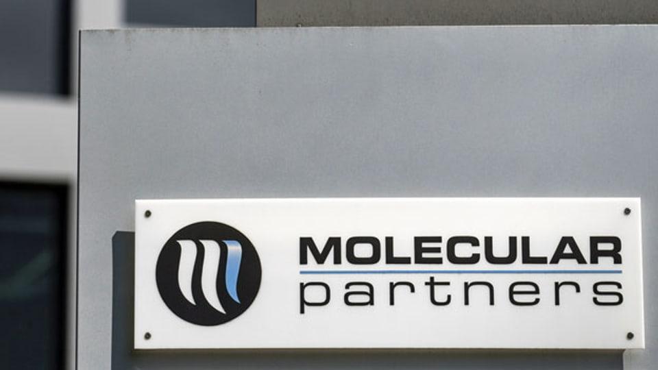 Logo der Firma Molecular Partners AG.