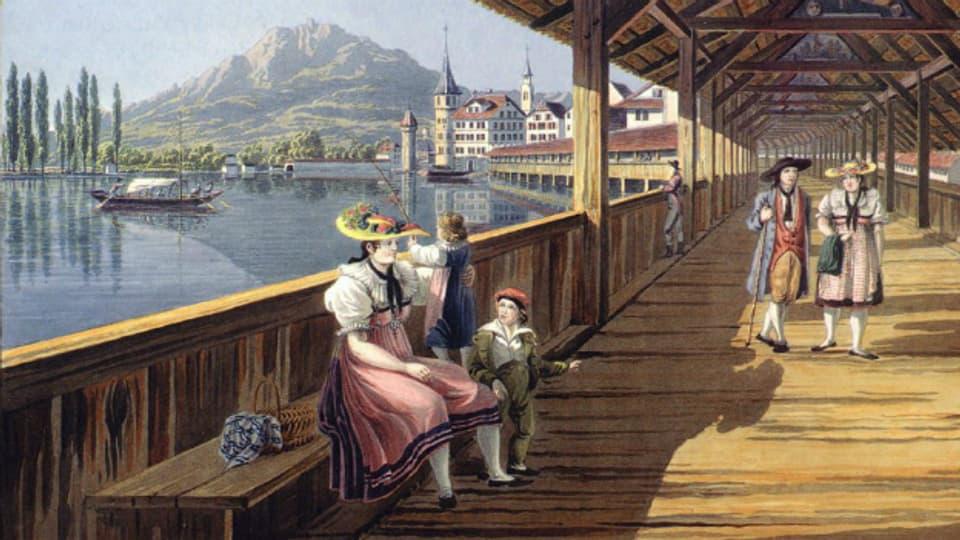 Luzern um 1820