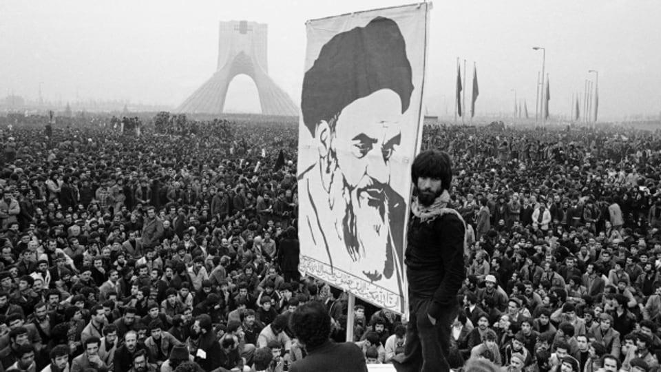 Proteste im Iran gegen den Schah
