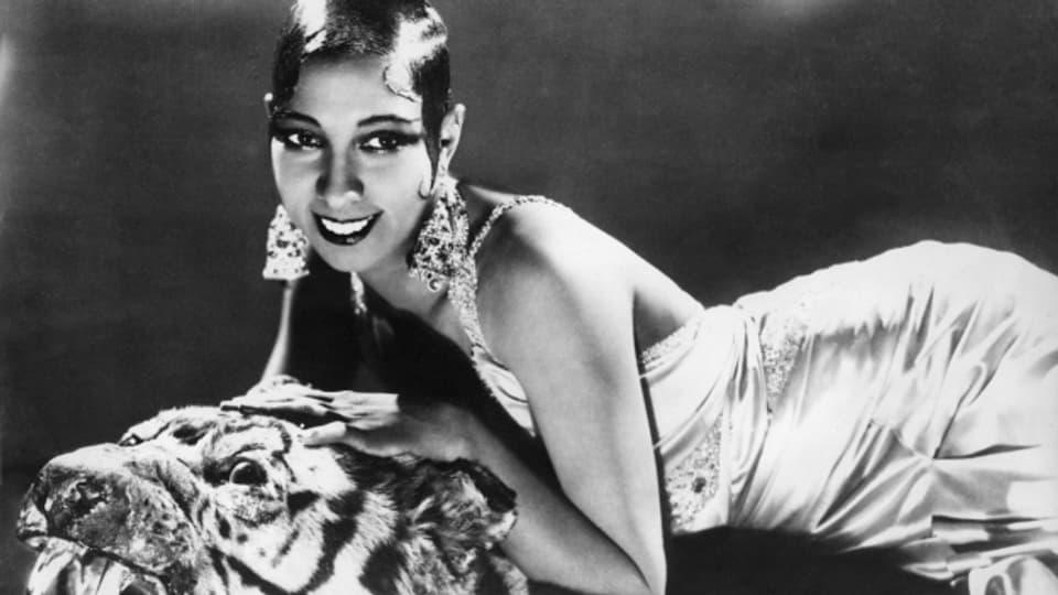 Josephine Baker schaffte Mitte der 1920er Jahre den Durchbruch als Nackttänzerin.