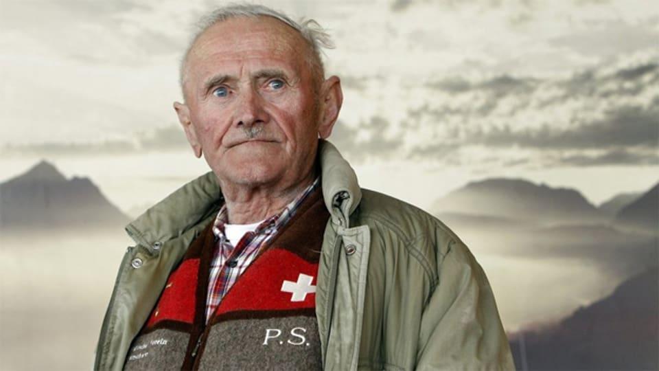 Wetterprophet Peter Suter.