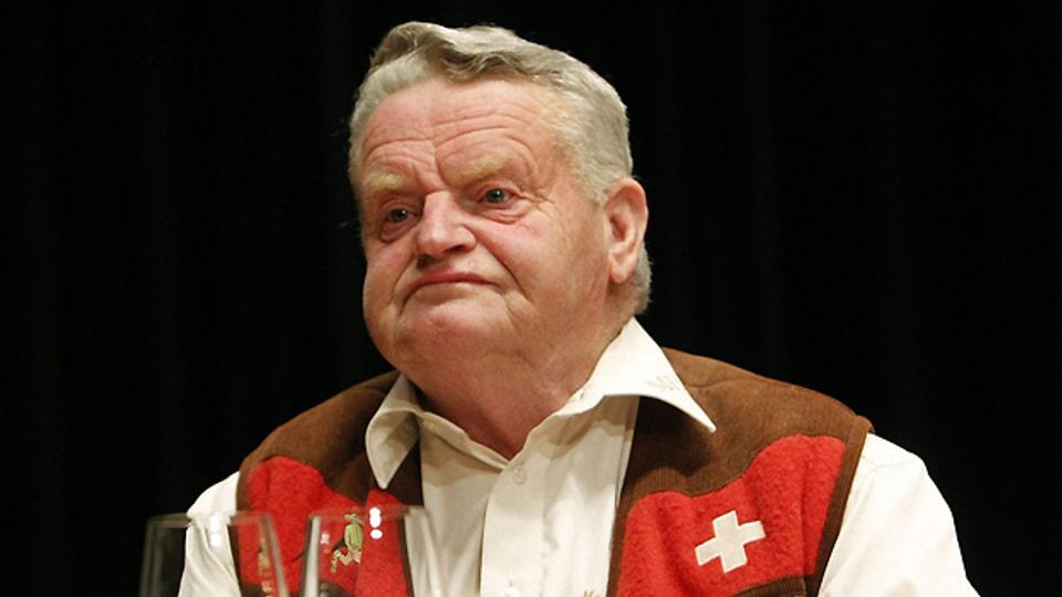 Muotathaler Wetterprophet Martin Horat.