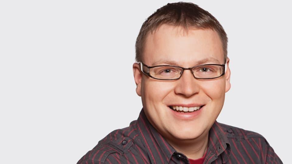 SRF Musikwelle-Moderator Sämi Studer.