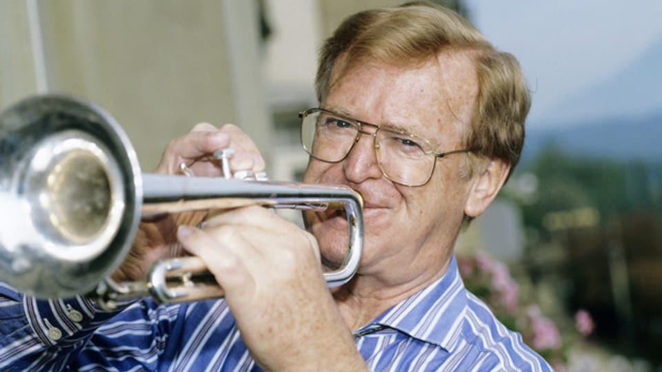 Rolf Erich Osterwalder alias Hazy Osterwald (1922-2012).