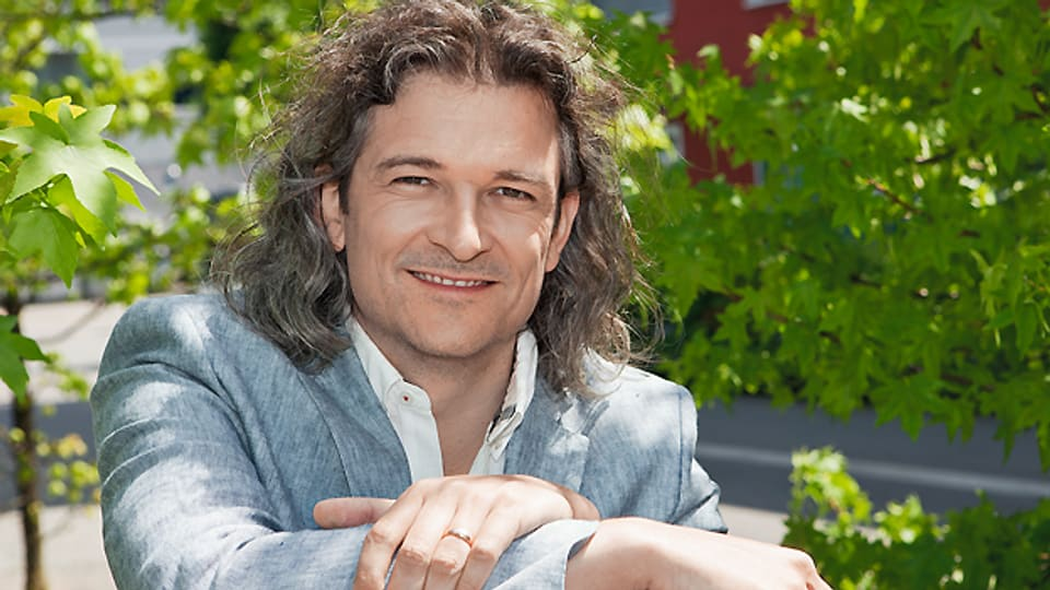 SRF-Volksmusikredaktor Dani Häusler.