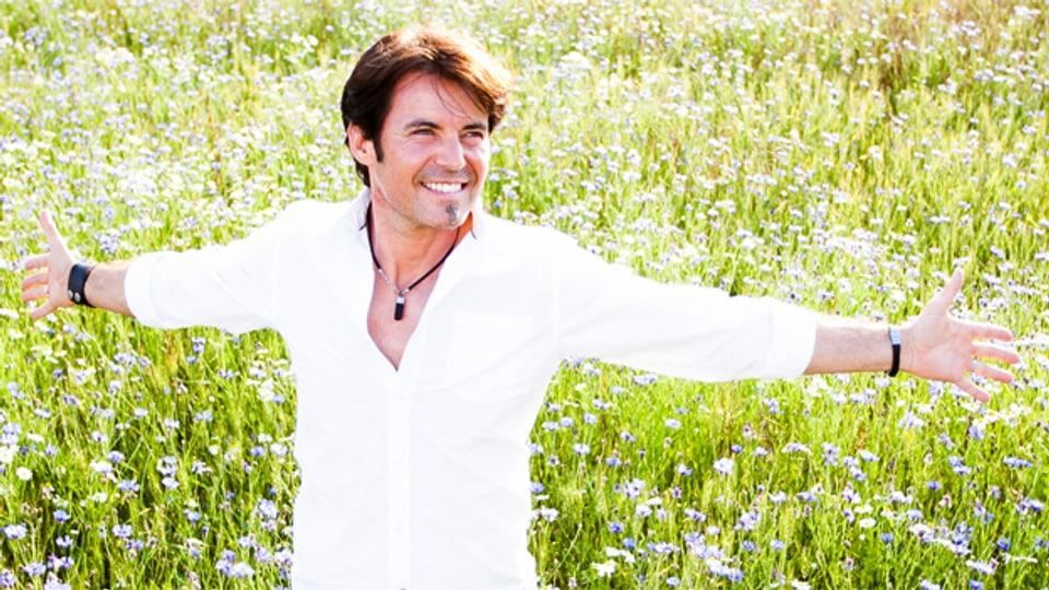 Mit seiner aktuellen Single «Mit Liebe die Welt erobern» ist Andreas Rauch auf Erfolgskurs.