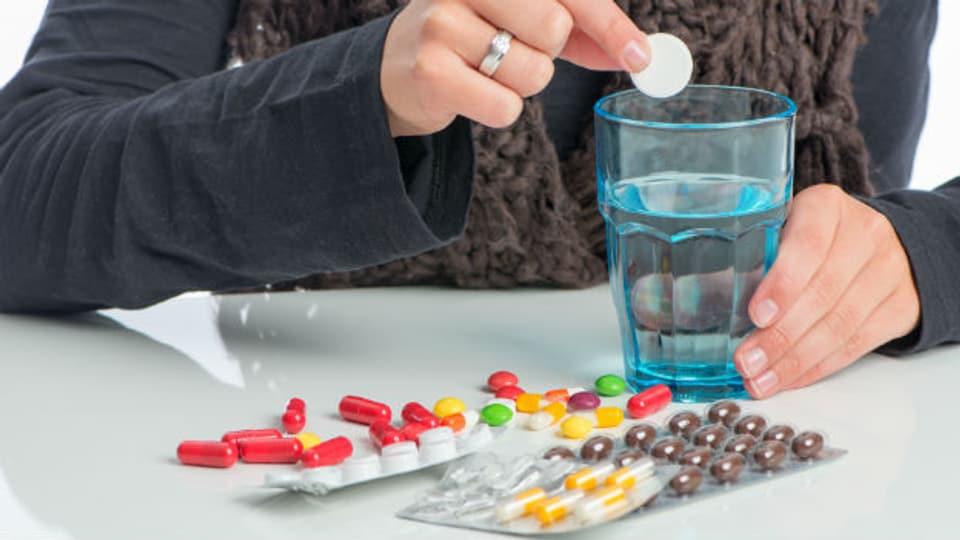 Eine Brausetablette könnte eine Alternative zu üblichen Tabletten sein.