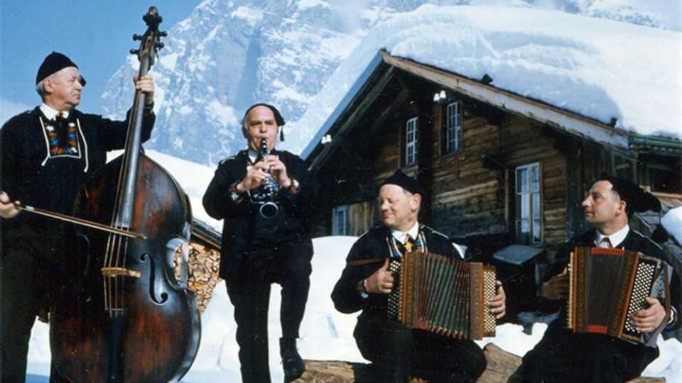 Gottfried Sigrist, Toni Amrein, Lorenz Giovanelli und Ernst Feuz.
