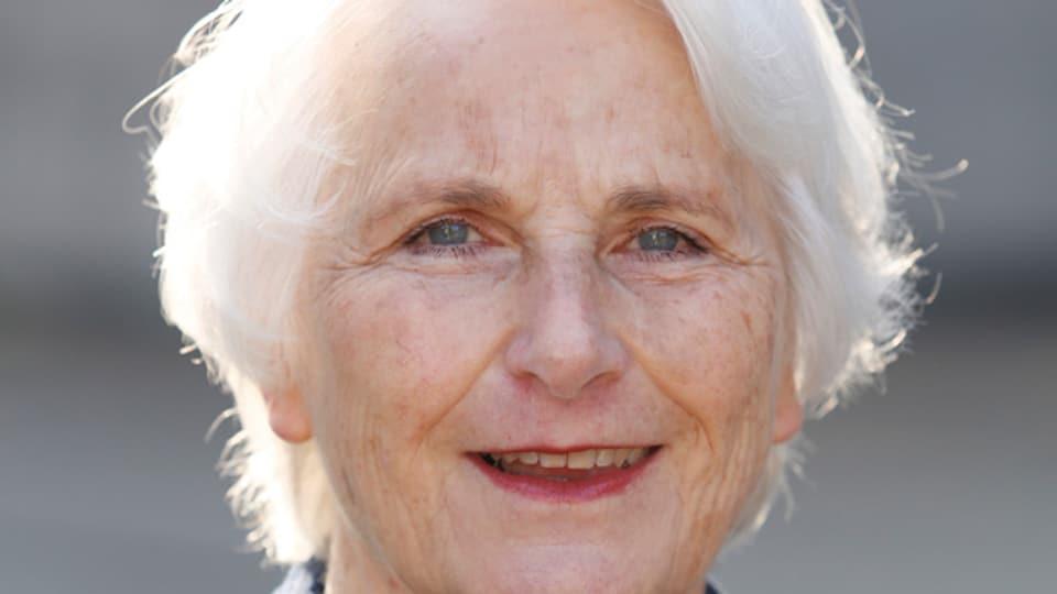 Die 71-jährige Gerda Hauck ist Präsidentin des Vereins «Haus der Religionen».